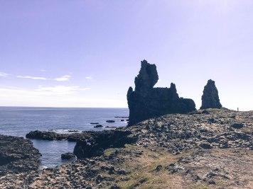 Londrangar Londrangar basalt cliffs