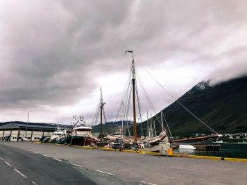 Ísafjörður port