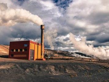 Krafla power station