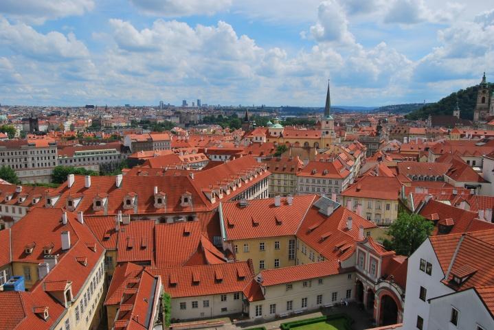 Postcard-perfect Prague