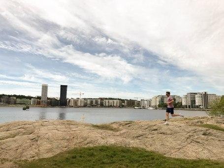 Running around the island of Södermalm