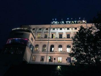 Södra Teatern at night