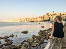 The quintessential view of the Gaeta harbor