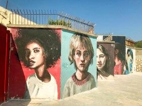 Gaeta has some really cool beachfront street art