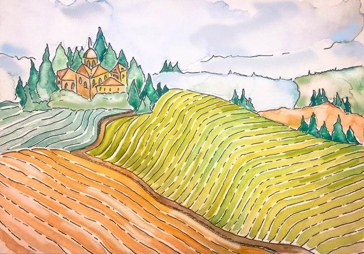 "Tuscany: Home of the ""VinoNobile"""