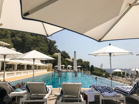 Pool day in Cap-Ferrat