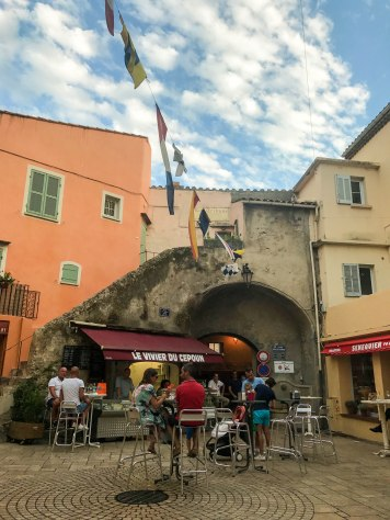 Our favorite square in Saint Tropez