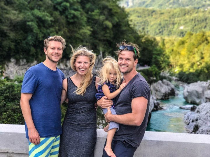Soca River and family