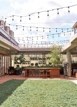 The rooftop at the Commons, a great mixed-use community space we frequented in Thonglor