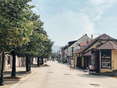 Cetinje town