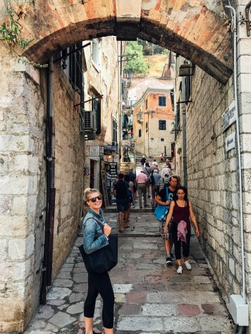 Getting lost in the medieval town of Kotor